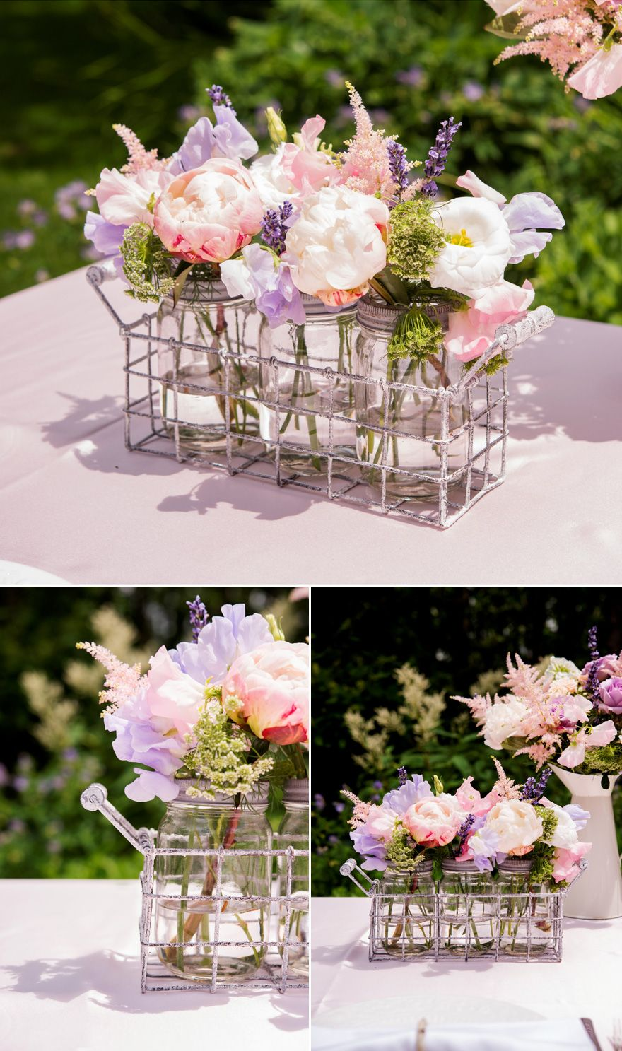 Wedding decoration ideas garden party  Youull Be Spoilt For Choice with These  Stunning DIY Centrepieces