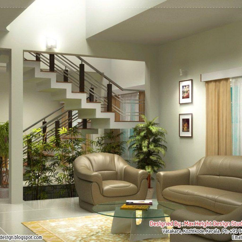 Kerala House Living Room Design Dengan Gambar Interior Kentucky