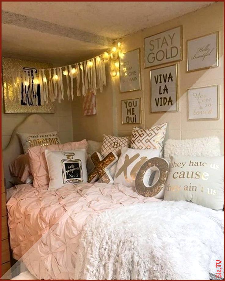 46 Fantastic Diy Room Decor Ideas For Teens Girls bedroomideasforsmallroomsforco… Genç odası