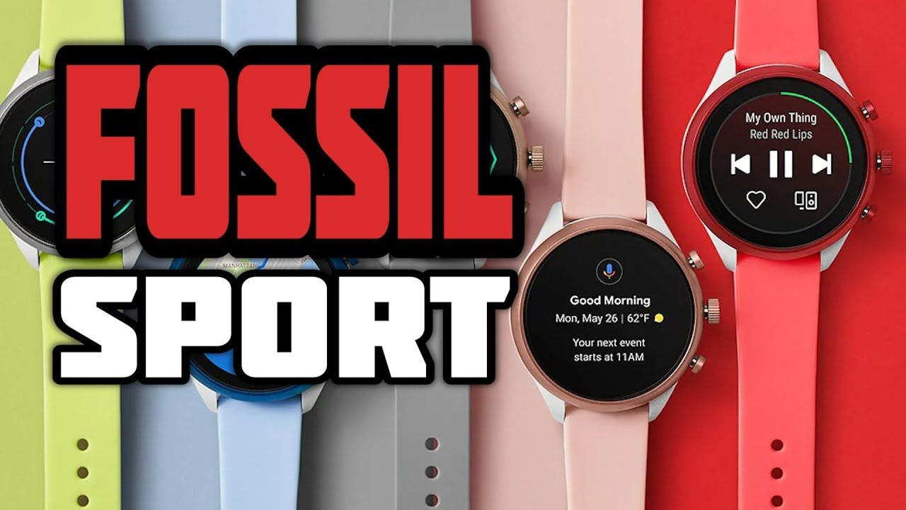 The Fossil Sport smartwatch combines the latest Google