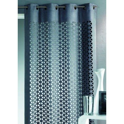 Rideau d coupe laser esth te gris rideau et store pinterest laser gris et d co maison for Deco laser maison