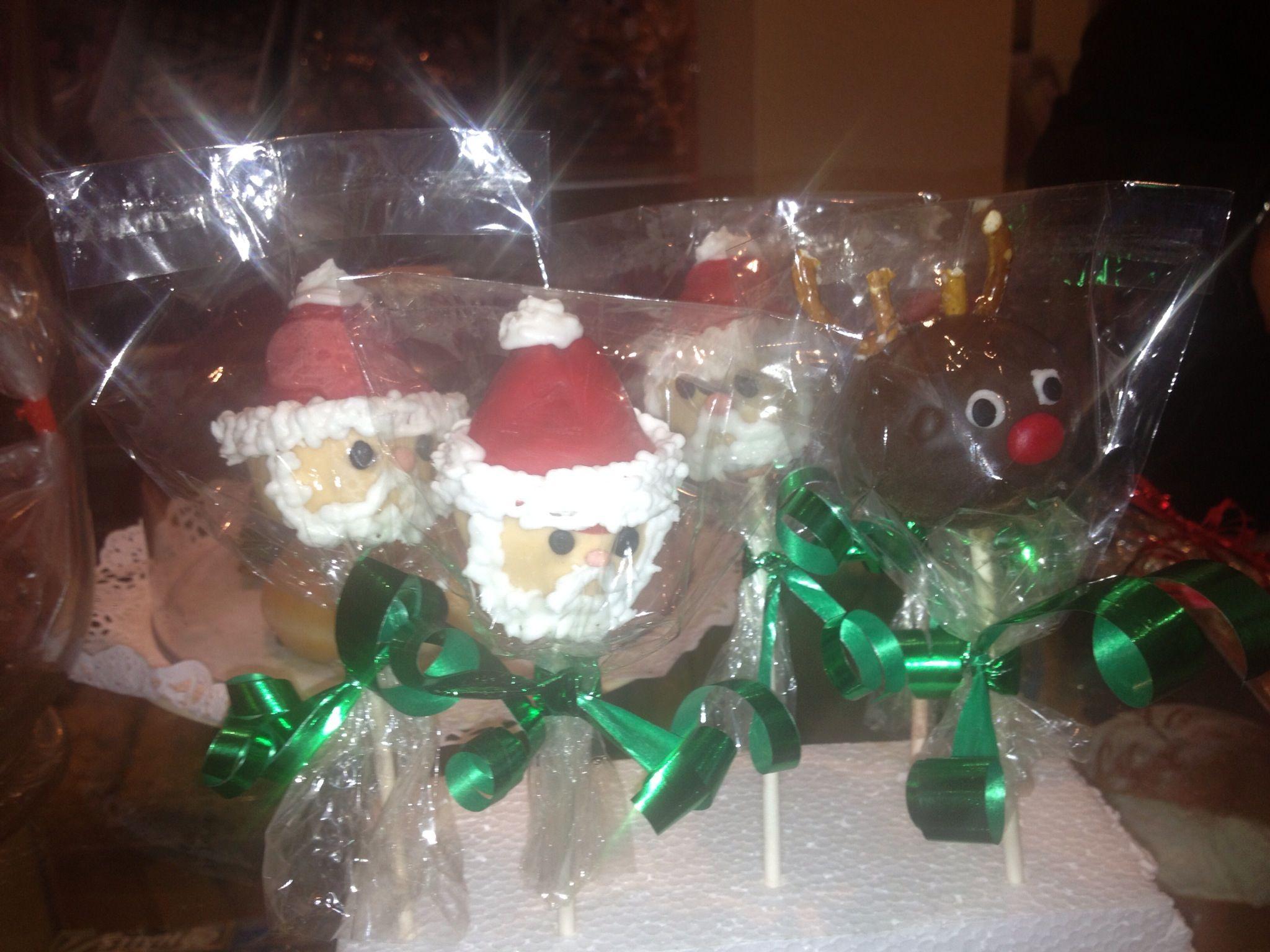 Popcakes navideños.