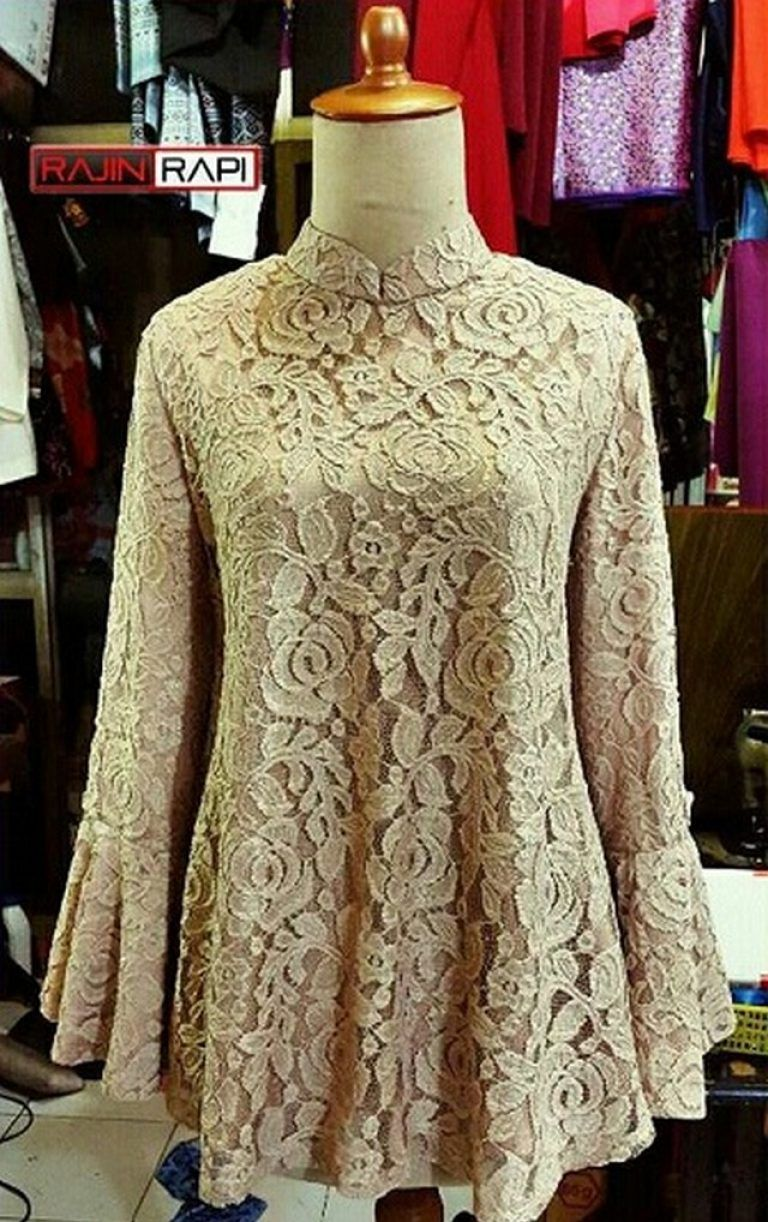 model baju kebaya modern berjilbab cantik dan modis, model kebaya