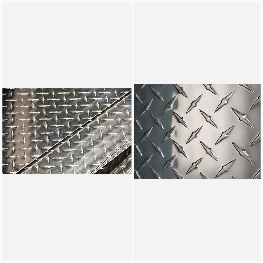 3003 Aluminum Diamond Tread Plate Sheet 190 X 12 X 6 Checker Plate Aluminum Sheet Aluminium Sheet