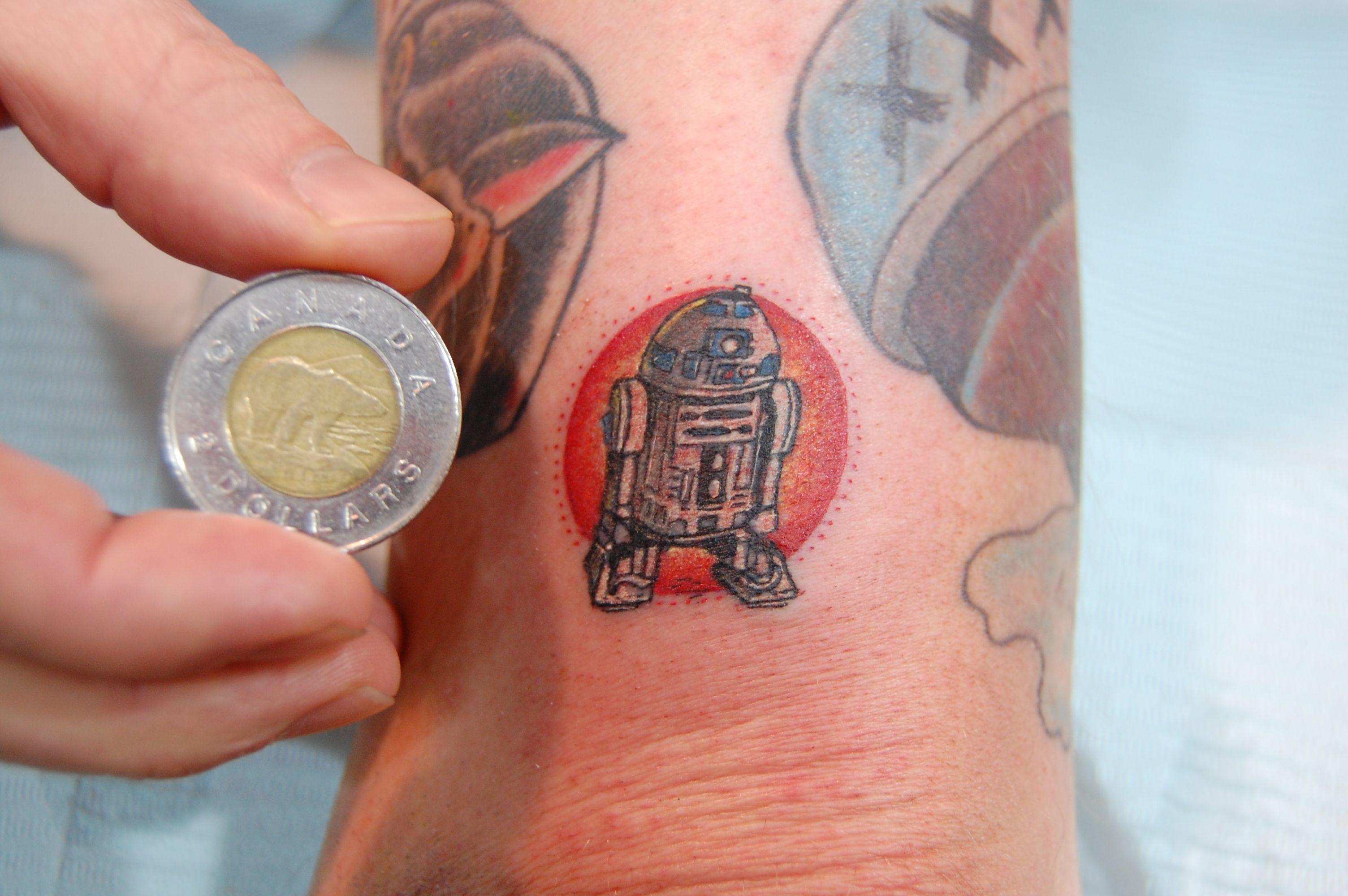 R2d2 Geek Tattoo Dollar Tattoo Tattoos