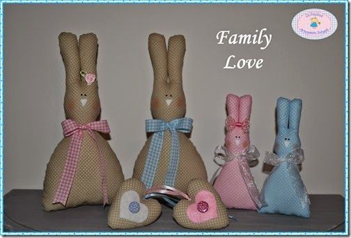 Family Love Bunnies