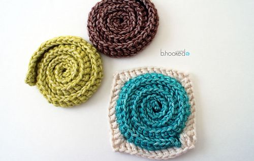 Simple Swirl Embellishment and Motif