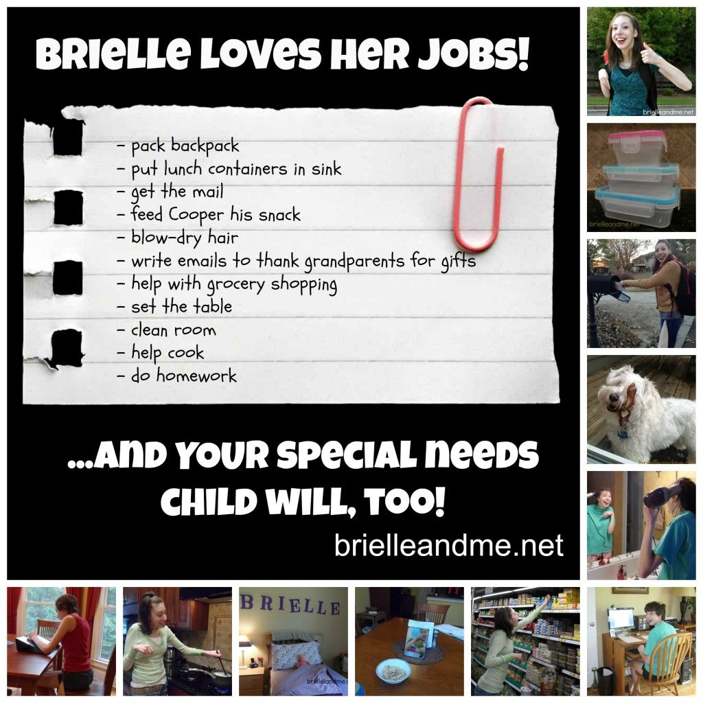 Why Your Special Needs Child Should Do Chores And How To