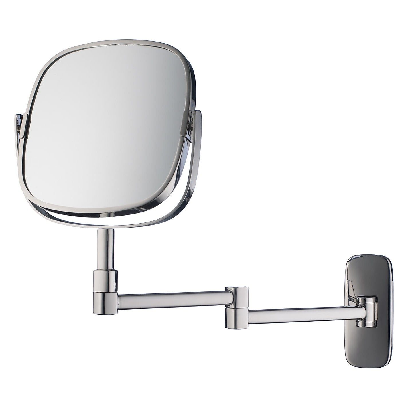 robert welch bathroom burford extendable magnifying wall from