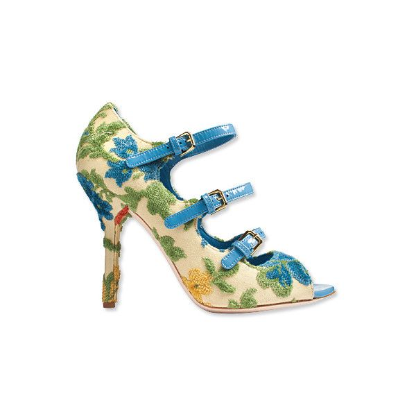 2012 Spring Fashion Trends: The Shoes You'll Want This Season -... ❤ liked on Polyvore