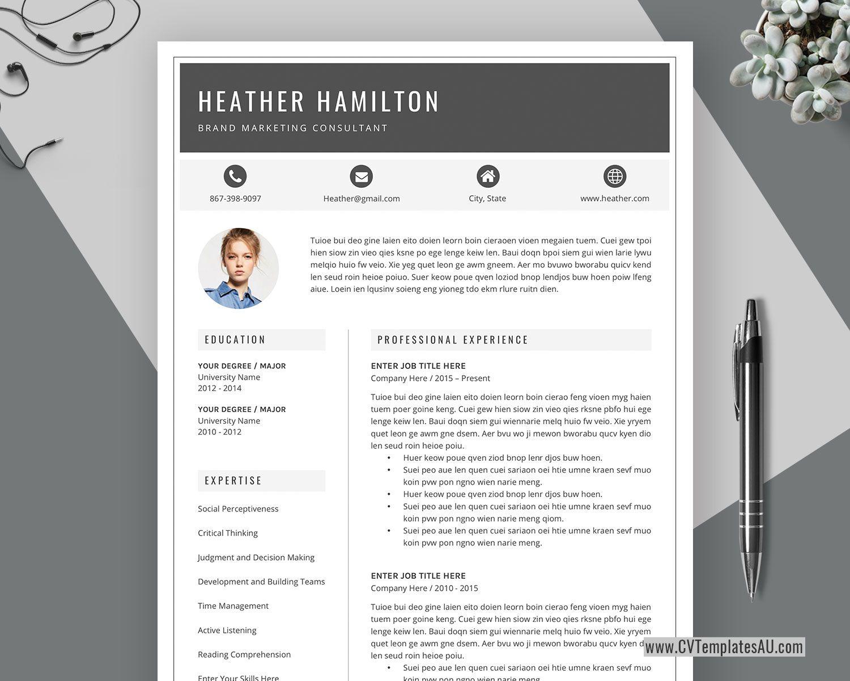 Modern Cv Template For Microsoft Word Cover Letter Professional Curriculum Vitae Edita Resume Template Australia Free Resume Template Word Resume Template Free