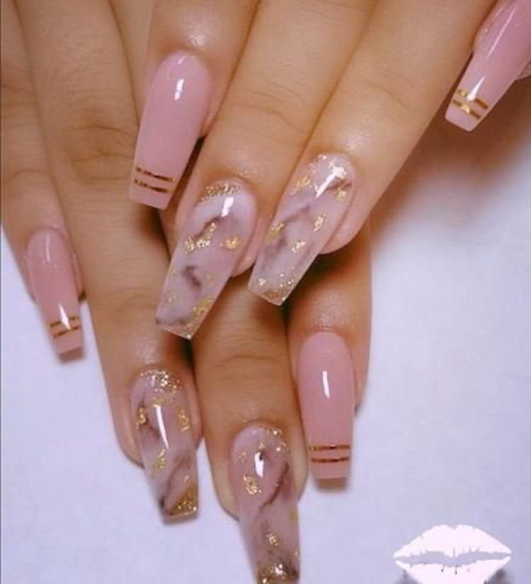 30 Amazing Nail Art Design For Your Christmas Or New Year 2020 Page 21 Chic Cuties Blog Long Acrylic Nails Best Acrylic Nails Long Nails