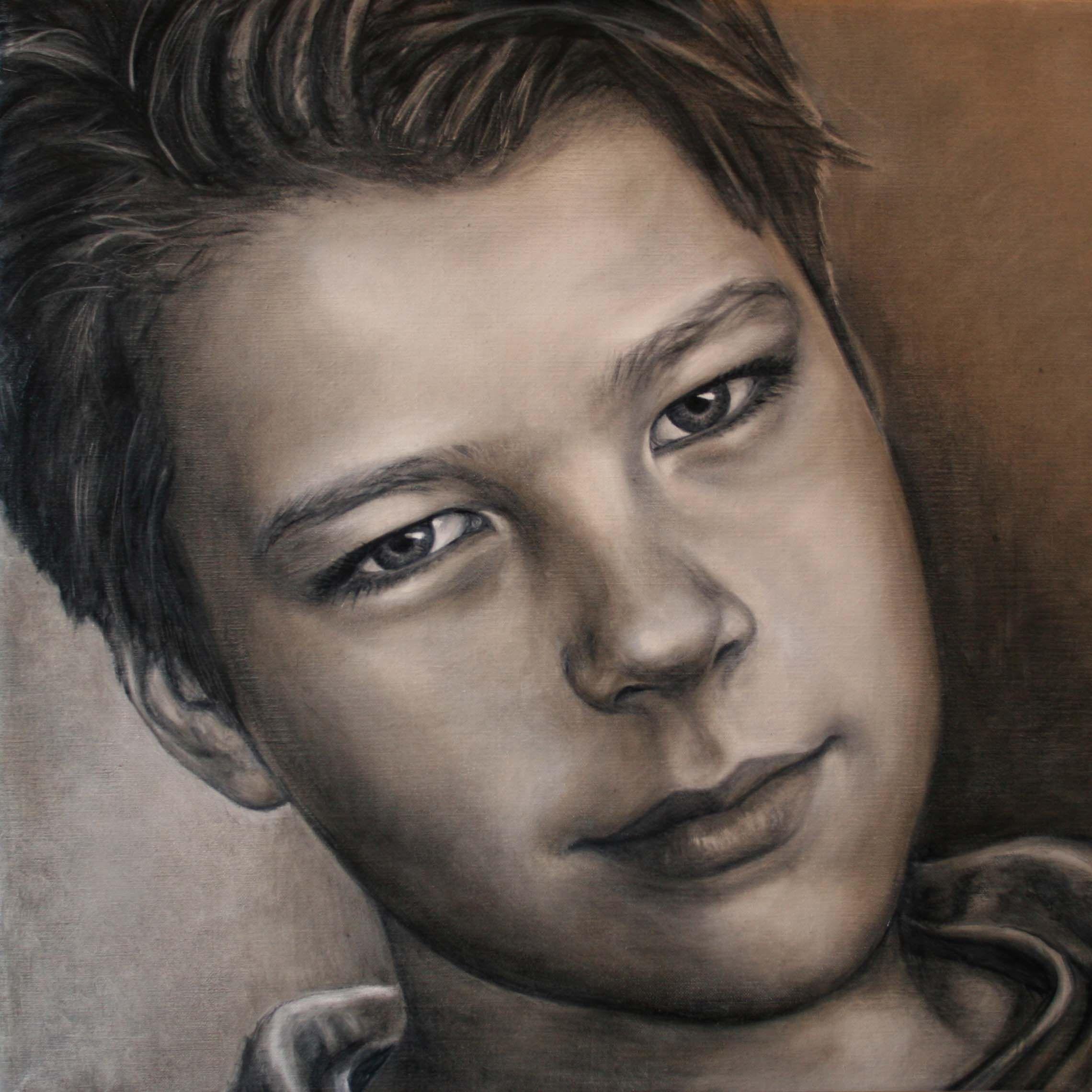 portret kunstenaar