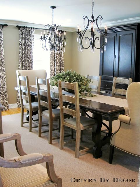 House Tour Dining Room Driven By Decor Living Room Dining Room Combo Dining Room Curtains Elegant Dining Room