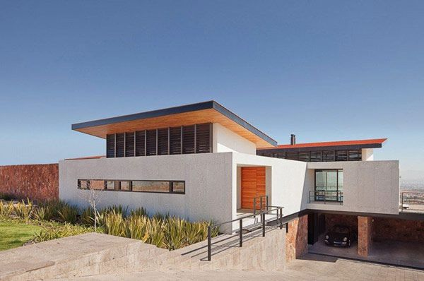 Modern Architecture Adapted To The Chihuahuan Desert Climate Casa
