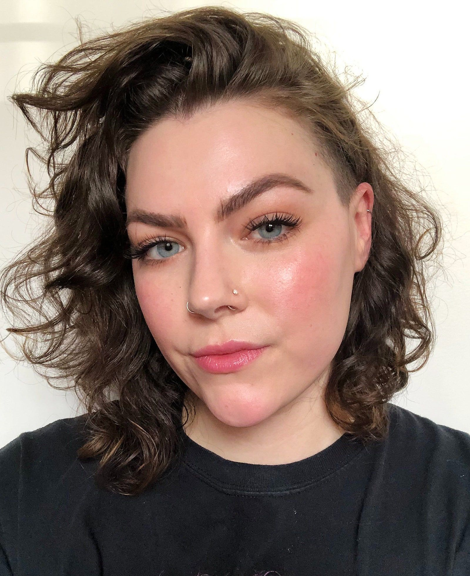 I Tried The Tiktok Foundation Hack That Involves Applying Your Base Products Out Of Order Makeup Base Square Face Hairstyles Tapered Haircut For Women