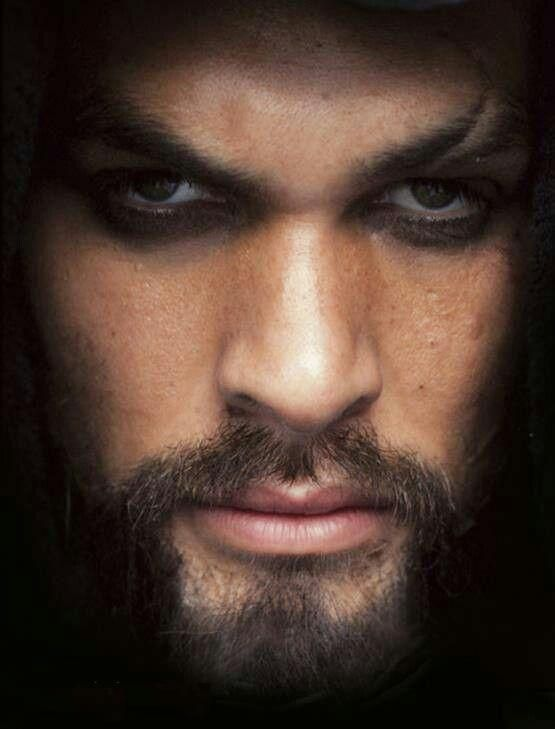 Jason Momoa.  Beautiful facial structure nevermind his eyes...