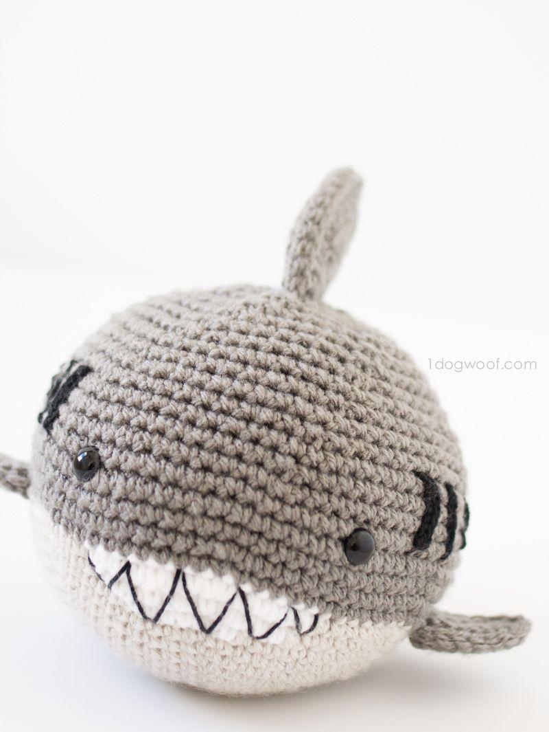 Crochet Shark Amigurumi | Pinterest | Crochet shark, Amigurumi and ...