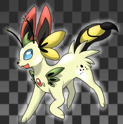 Eevee —> Hibisceon Bug Source/Artist: see below thlrdeye ...
