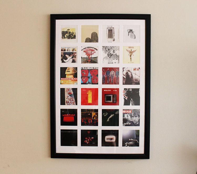 CD Cover Wall Art in 2018   Craft   Pinterest   Cd art, Cd storage ...