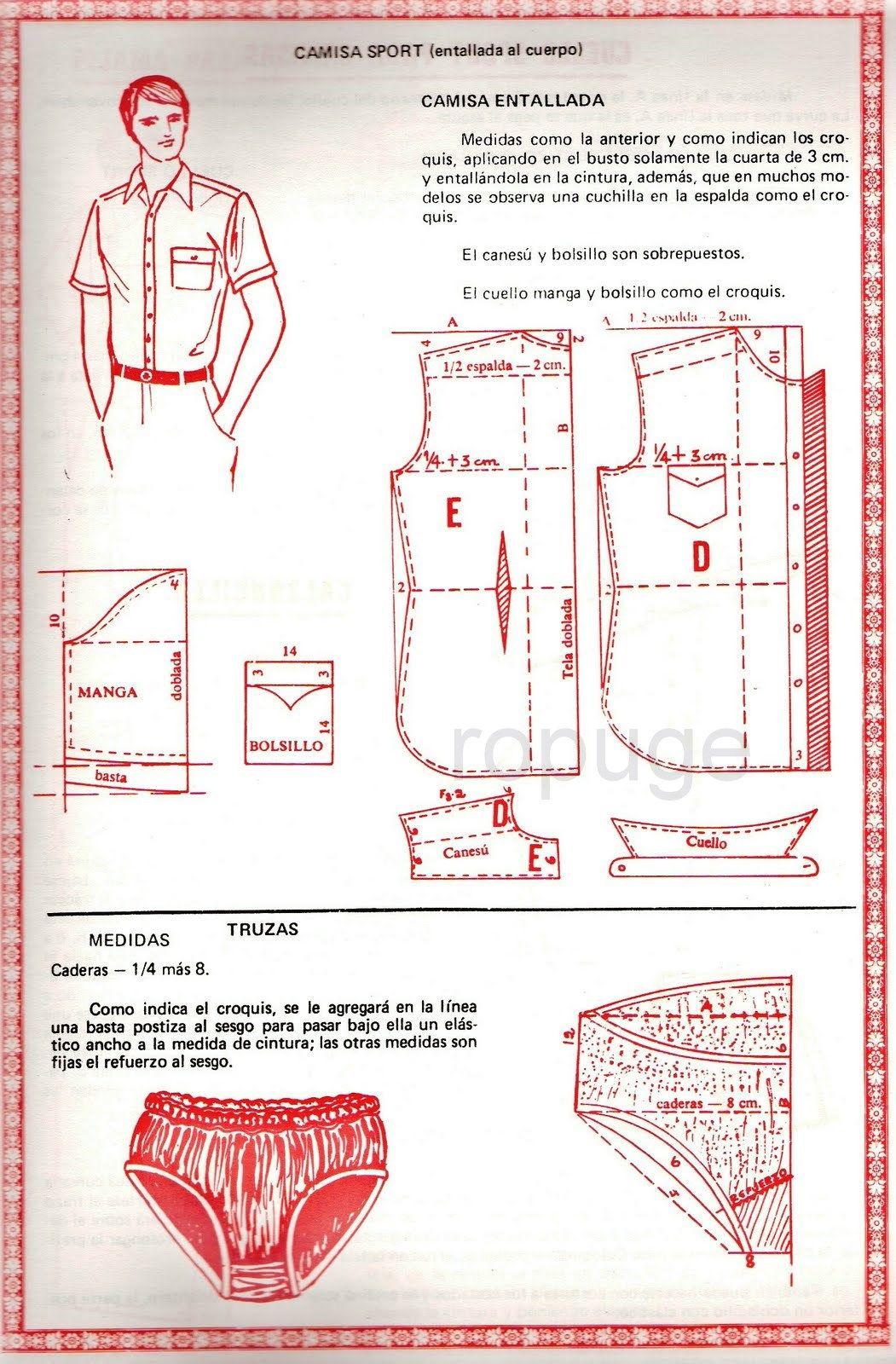 dd515d7c8 Archivo de álbumes   Modas moderna   Patrones de costura, Patrones ...