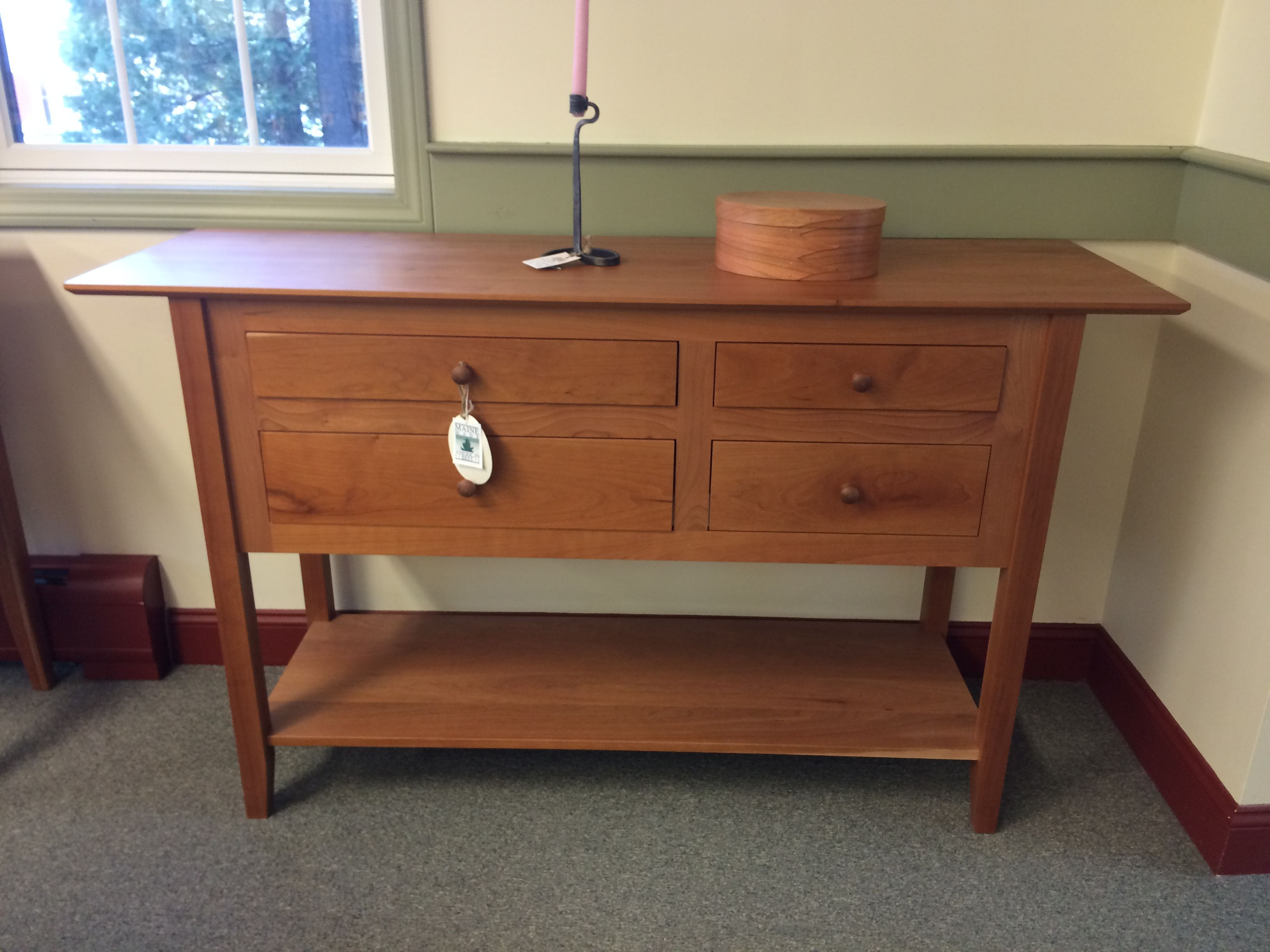 Our Cherry Campbell Sideboard Made In Maine Chilton Furniture Freeport Me 888 510 6300
