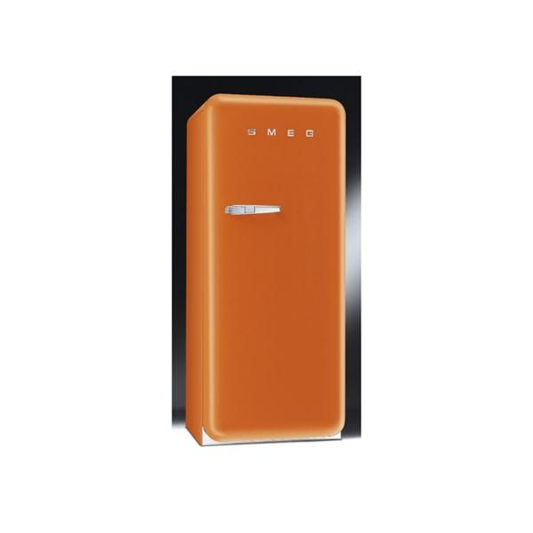 Beautiful 50u0027S Style Refrigerator With Ice Compartment, Orange, Right Hand Hinge From  Smeg