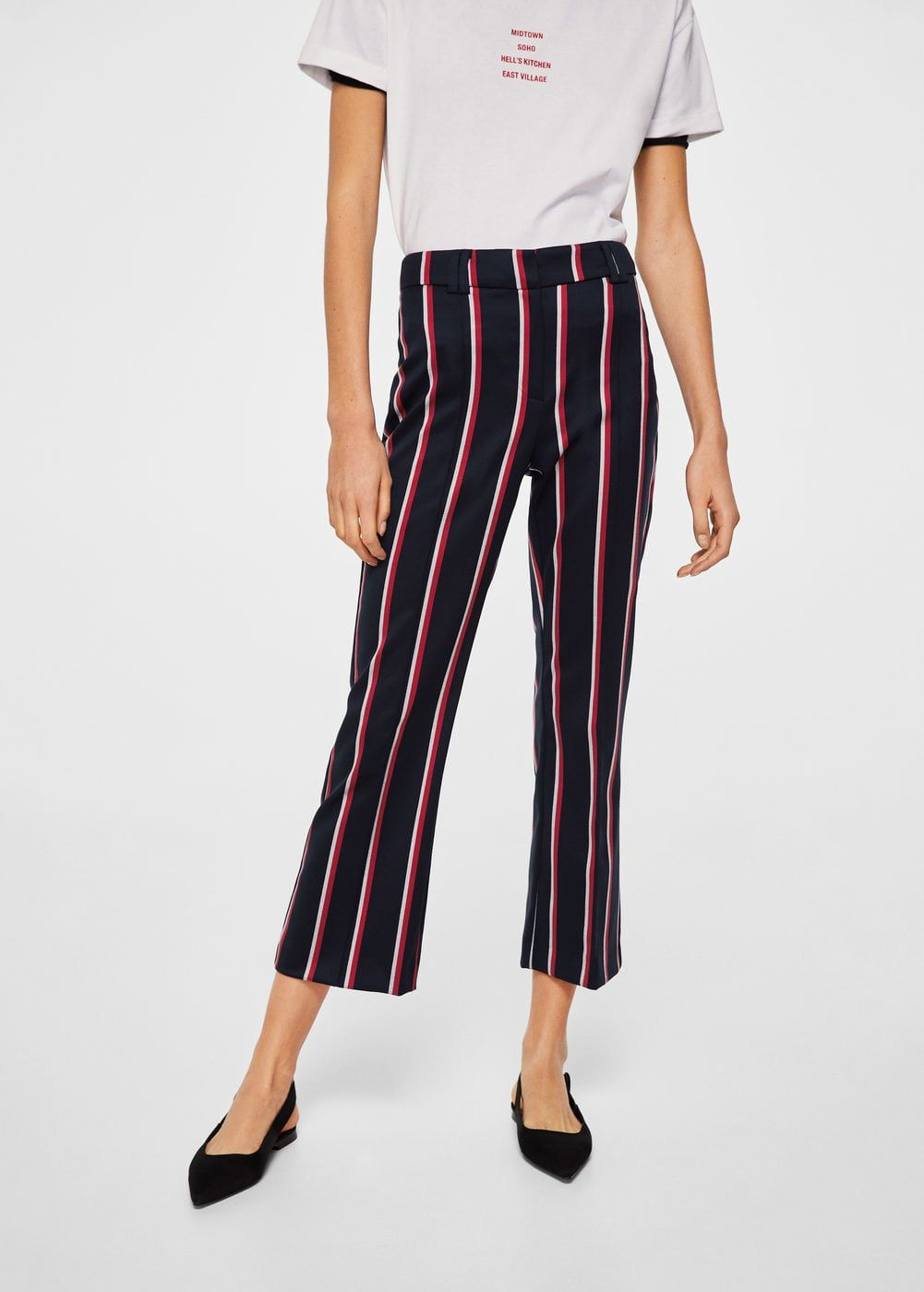 f11d5d4da3 Straight striped trousers - Women in 2019