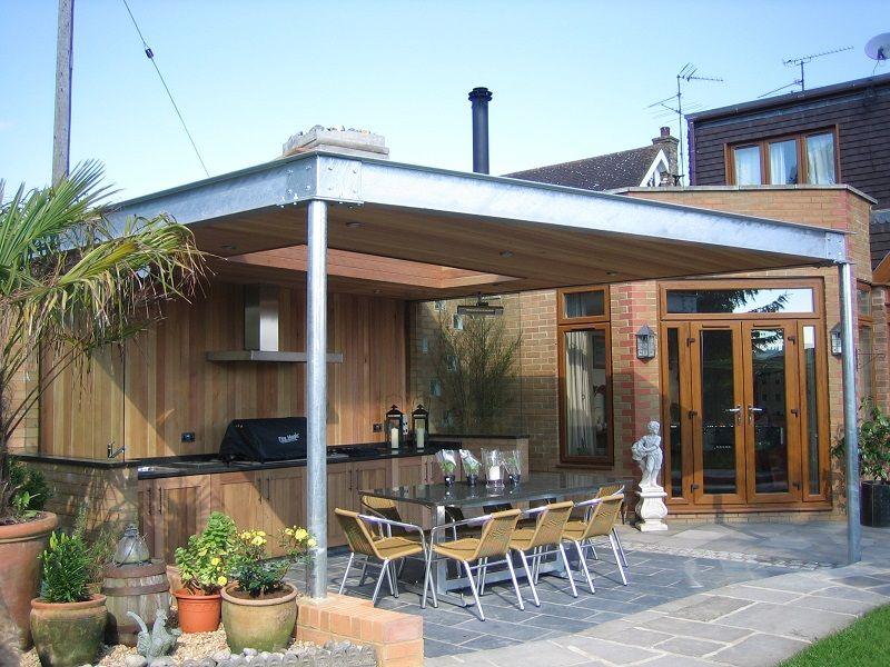 Find Out The Cozy Garden For Barbecue Ideas Simdreamhouse Cozygardendesign Cozygarden Gardeningd Outdoor Barbecue Area Outdoor Bbq Kitchen Barbecue Area