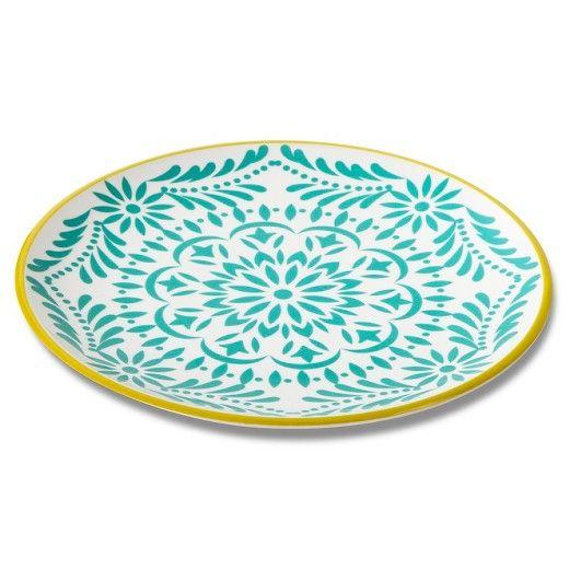 Marika Melamine Dinner Plates (10.5 ) Gold  Target  sc 1 st  Pinterest & Marika Melamine Dinner Plates (10.5