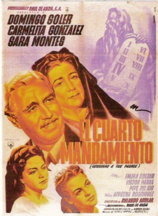 El cuarto mandamiento (1948) de Rolando Aguilar - tt0251648 | Cine ...