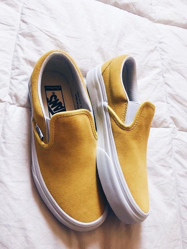 Classic Slip-On Suede Platform Sneaker in 2019 | Vans | Shoes, Sock ...