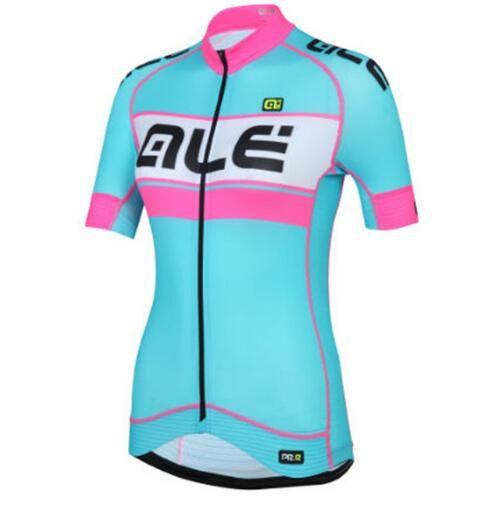 b219c96bc 2017 Women Cycling Jersey Short Sleeve   Bike Clothing Summer ...