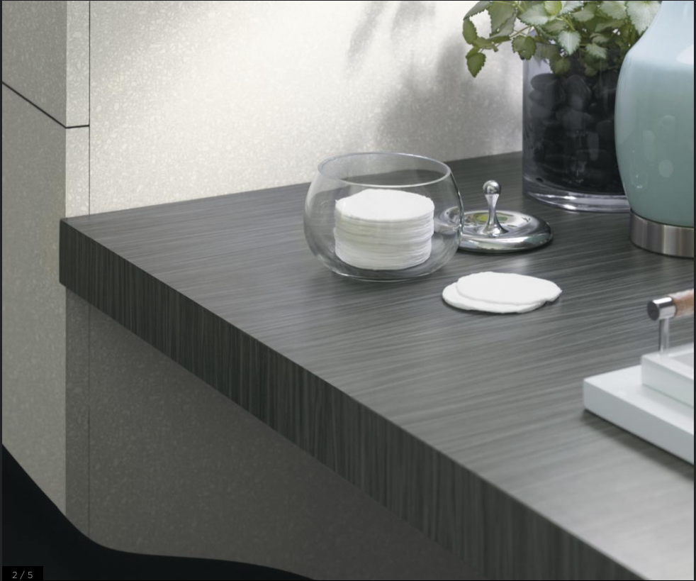 Bathroom Laminate Countertops: Formica Countertop Choice #1 Graphite Twill