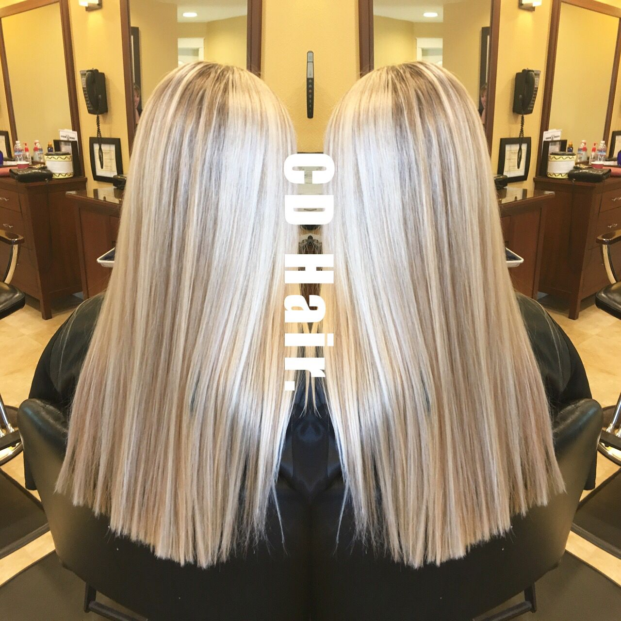 Platinum Blonde With Honey Lowlights By Cdhair Follow On Ig