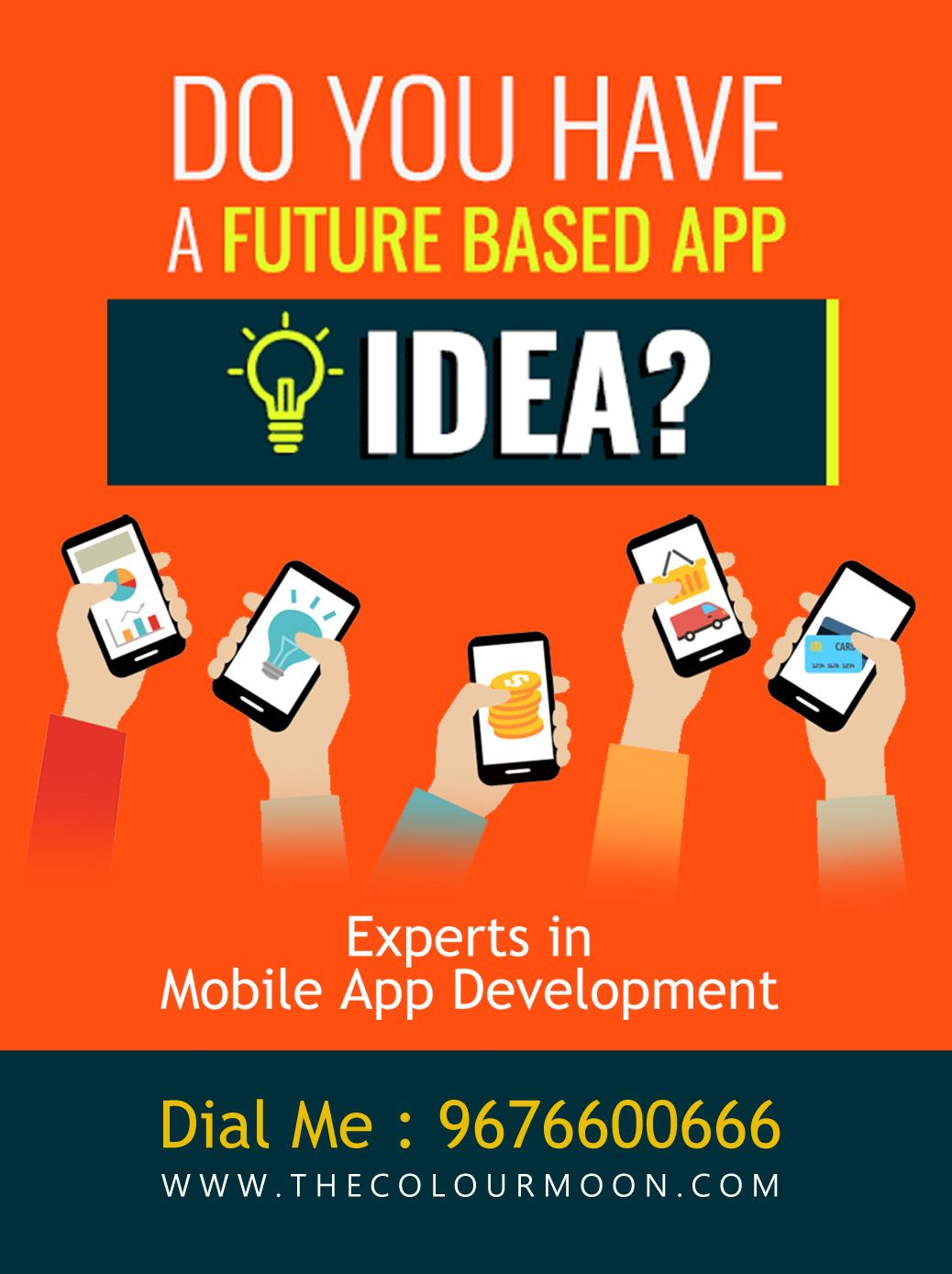 Looking to hire mobile app developers? The Colour Moon