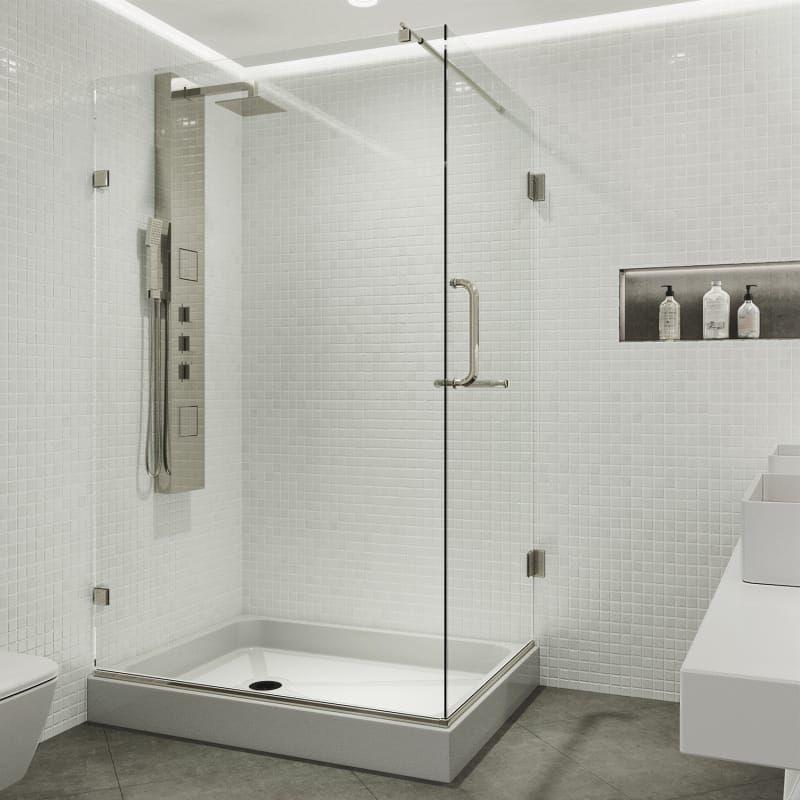 Vigo Vg601236wr Glass Shower Enclosures Frameless Shower Enclosures Shower Enclosure