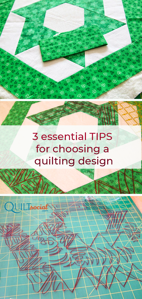 3 Essential Tips For Choosing A Quilting Design Quilting Designs Quilts Start Quilting