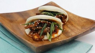 Peking Duck Steamed Buns Recipe by Mario Batali - The Chew