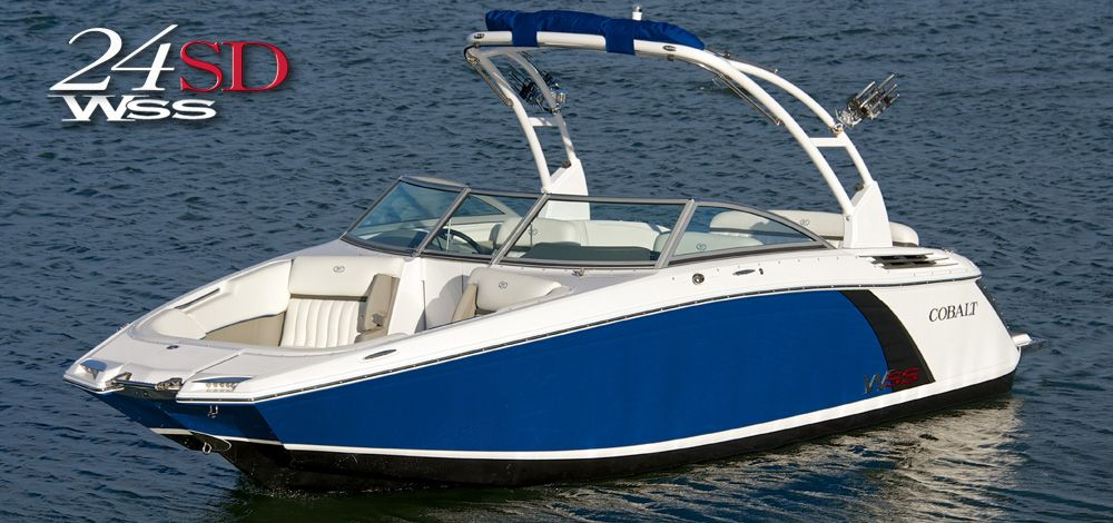 Cobalt Boats 24SD WSS Sport Deck Used boat for sale