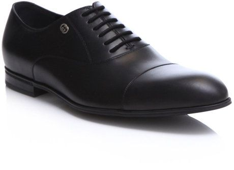 5bf9c3dde4cff Gucci Rubber Sole Laceup Shoes in Black for Men - Lyst