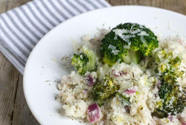 Bloemkoolrijst met broccoli