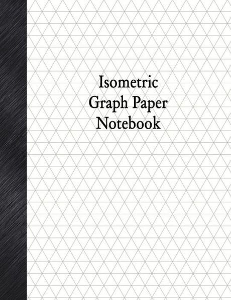 Graph Paper Notebook  Isometric Rule  Pages