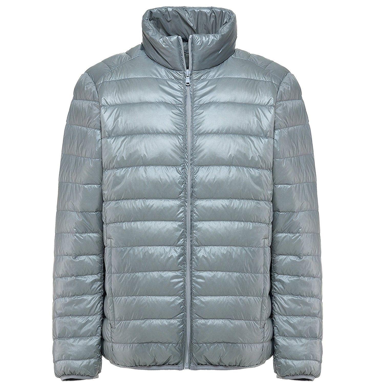 Men's Ultra Light Packable Down Puffer Jacket Outwear - Gray - CE185W7IM35, Men's Clothing, Jackets & Coats, Down & Down … | Winter jacket men, Mens  jackets, Jackets