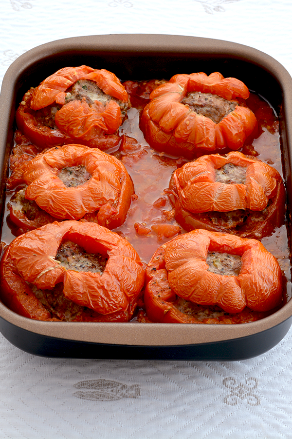 Ground Beef Stuffed Tomatoes images
