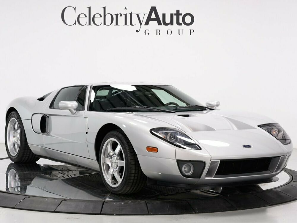 Ebay Advertisement 2005 Ford Gt Gt40 Rare Silver With Stripe Delete Mcintosh 2005 Ford Gt Rare Stripe Delete Mcintosh Only 2k Miles Ford Gt Gt40 Ford