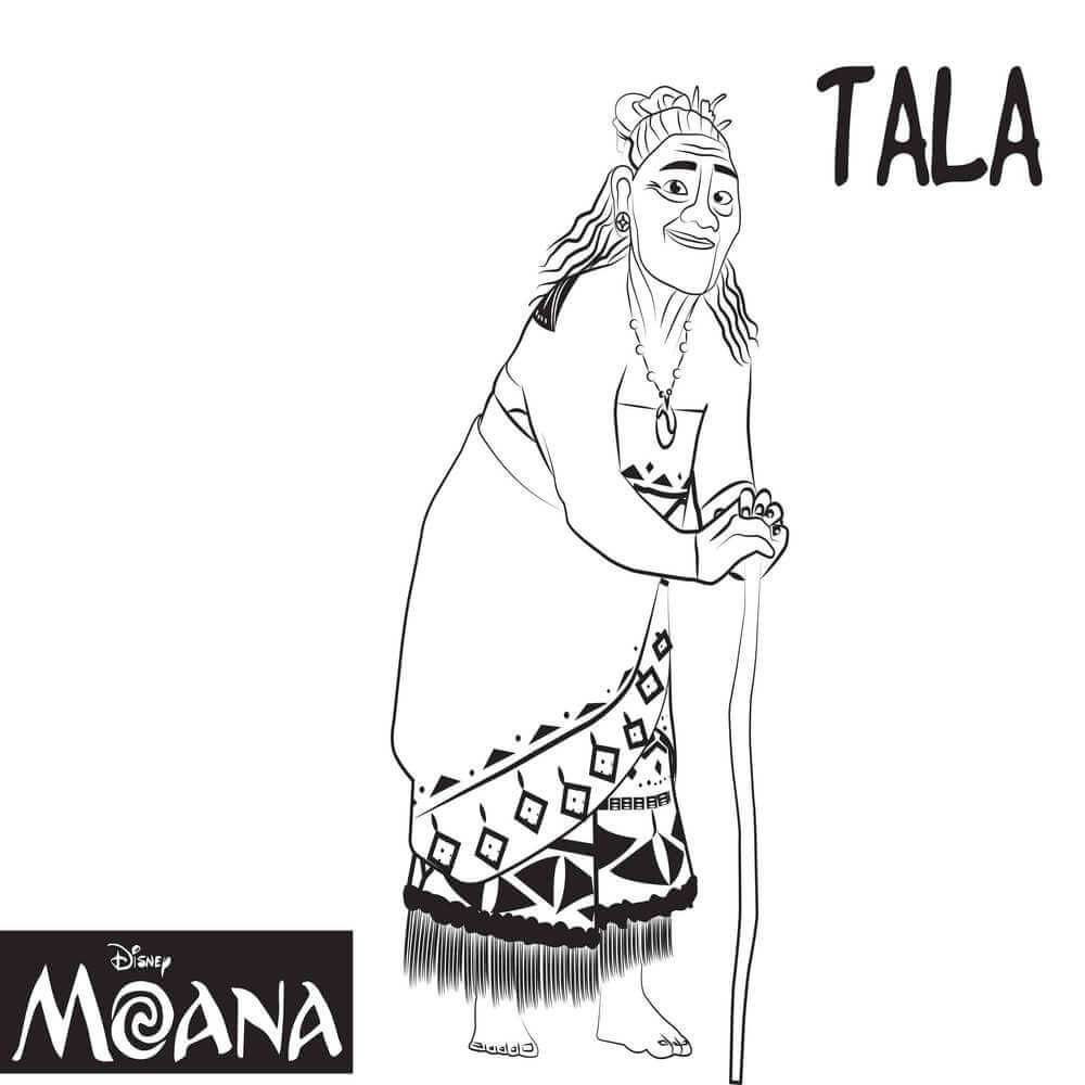 top 10 moana coloring pages free printables moana free