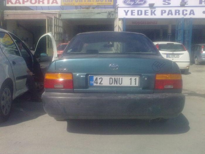 toyota corolla 1994 model hasarlı toyota. | araba.nanobilgi
