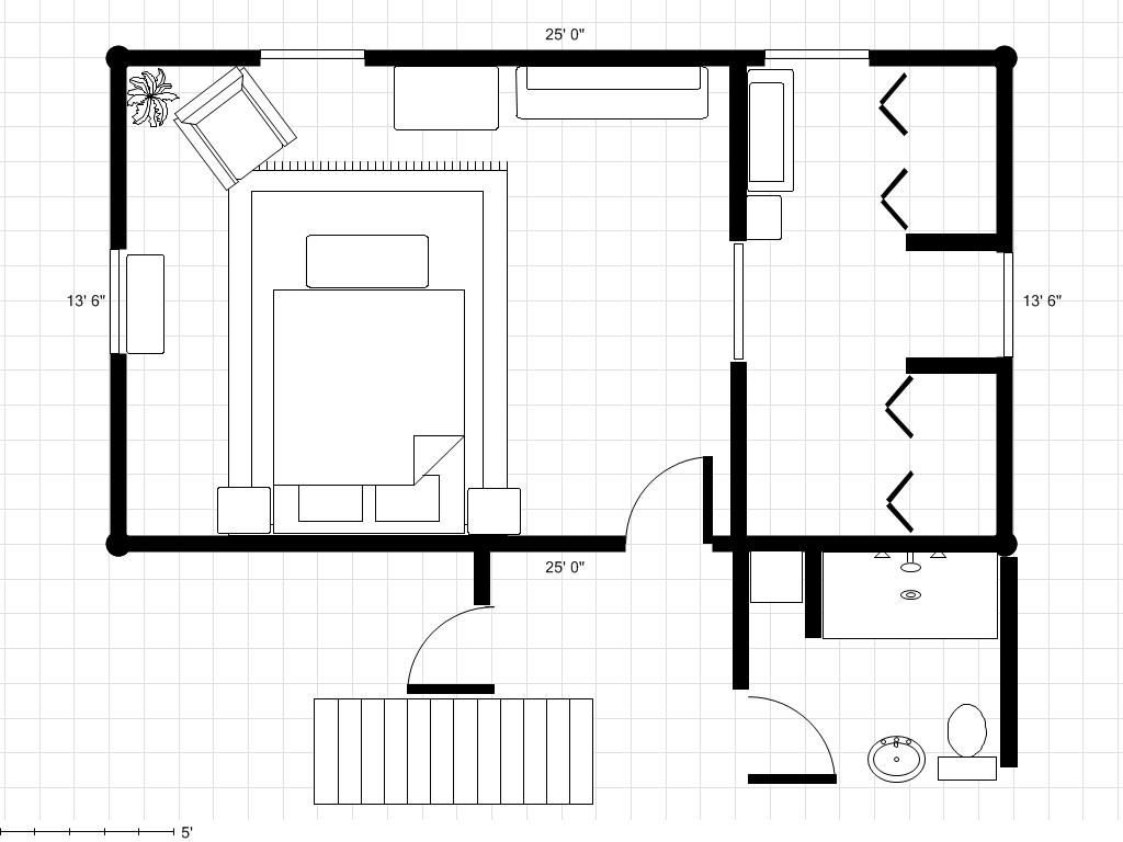 Small Master Bedroom Layout basement remodeling ideas for master bedroom/bath - google search