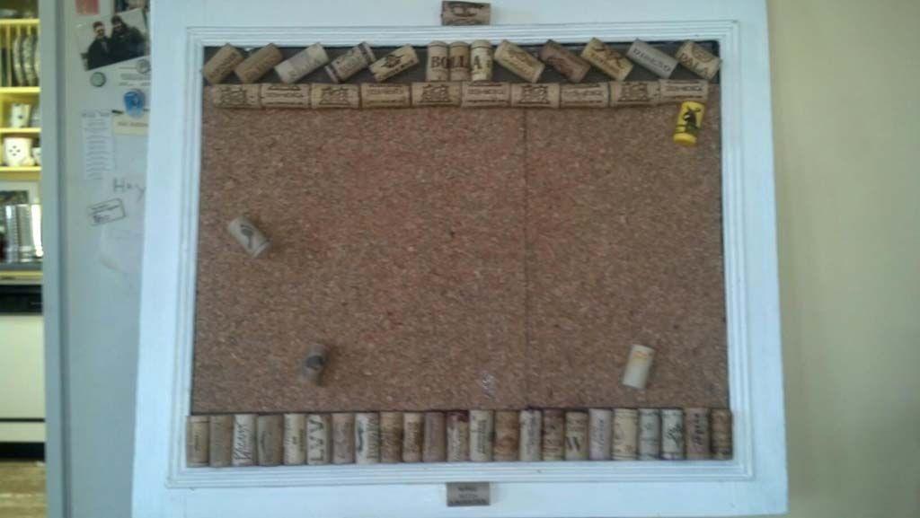 My Cork board